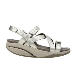 Women's Kiburi Silver Dress Sandals
