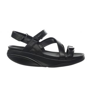 Women's Kiburi Black Dress Sandals 400319-03 Small