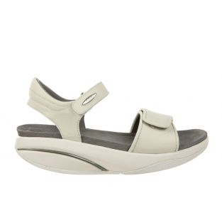 Women's Malia White Nappa Sandals