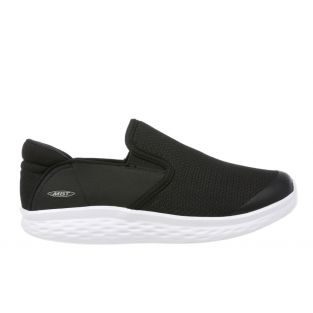 Women's Modena Black/White Walking Slip-Ons 702626-399Y Small