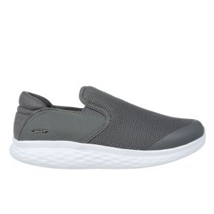 Women's Modena Grey Walking Slip-Ons 702626-20Y Small