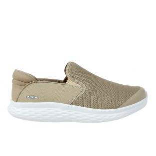 Women's Modena Taupe Walking Slip Ons 702626-1109Y Small