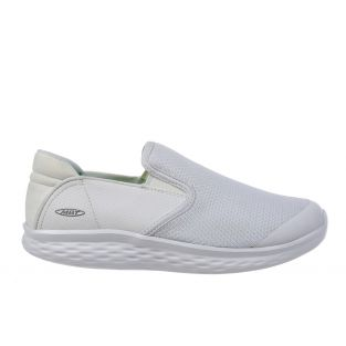 Women's Modena White Walking Slip-Ons 702626-16Y Small