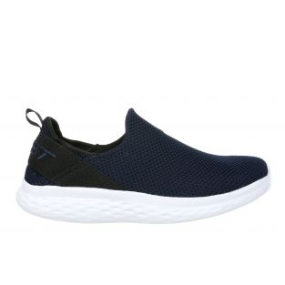 Women's Rome Dark Navy Walking Slip-Ons 702634-1103M Small