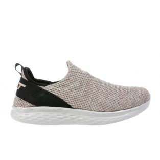Women's Rome Taupe Walking Slip-Ons