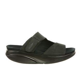 Women's Tabia Black Nubuck Flats 700952-03U Small