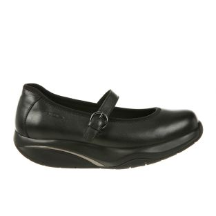 Women's Tunisha Black Nappa Mary Jane Flats 700956-03N Small