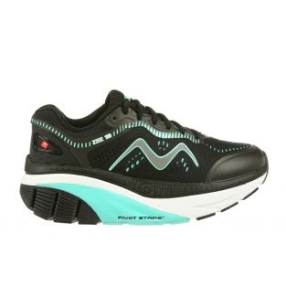 Women's Zee 18 Black/Light Blue Cushioned Running Shoes 702014-1169Y MaiinSmall