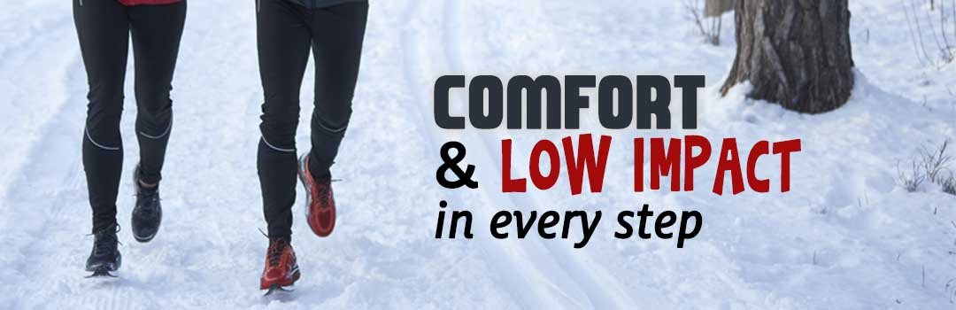 Comfort and Low Impact in Every Step