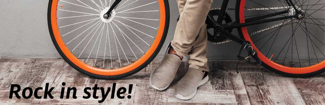 Rock in Style with Rome Slip-Ons