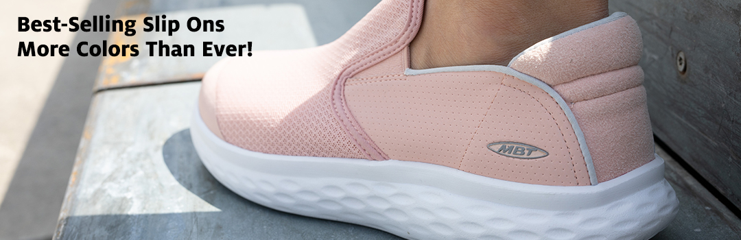 New colors available for Modena Slip Ons